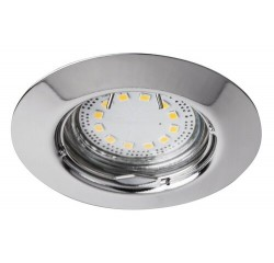 Lite circle spot fix GU10 LED3x3W chrome