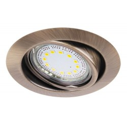 Lite circle spot adj.GU10 LED3x3W bronze
