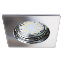 Lite square spot fix GU10 LED3x3W chrome