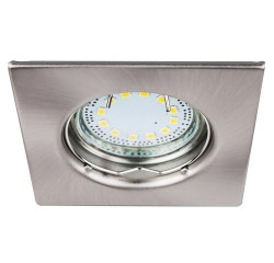 Lite square spot fix GU10 LED3x3W s.chrm
