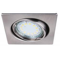 Lite square spot adj.GU10 LED3x3W s.chrm