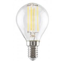 LED G45 E14 4W, 450 lm, 2700K