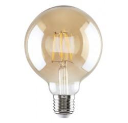 LED filament G95 E27 6W, 510 lm, 2700K