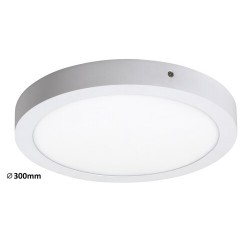 Lois ceiling,surface m.,LED24W,round,wht