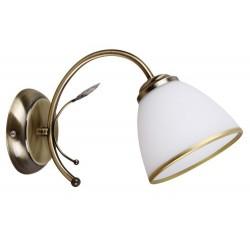 Aletta wall lamp E14 1x40 W bronz