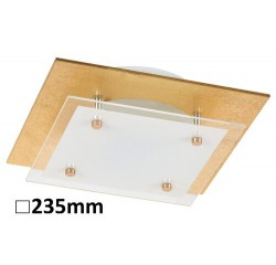 June ceiling,LED12W,goldfoiled/white