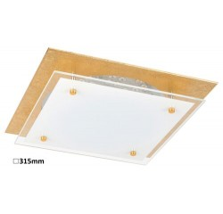 June ceiling,LED18W,goldfoiled/white