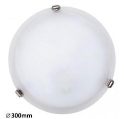 Alabastro ceilingD30 E27 60Wwhite/chrome