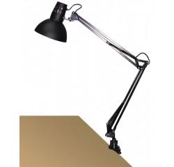 Arno table E27 60W,black,metal vise
