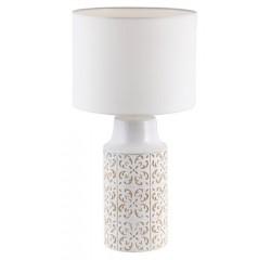 Agnes ceramic deskE27 1x40W,white/beige