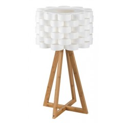 Andy nordic table,E14 1x40W,white,bamboo