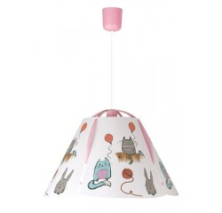 Cathy pendant E27 60W cat'n rabbit