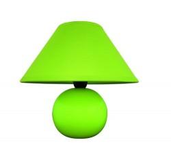Ariel ceramic table lamp E14 40W, green
