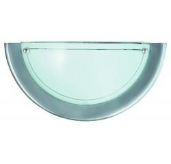 Ufo wall lamp D31 E27 60W chrome opal