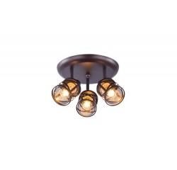Oberon Spot E14 3X MAX 40W  coffee/amber
