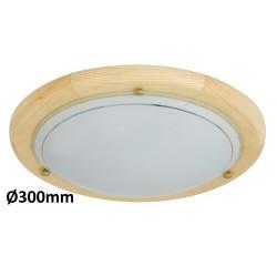 Fa Ufo ceiling D30 E27 60W nature opal