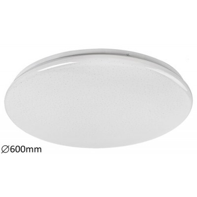 Danny, ceiling lamp, white, whitebuilt in LED 60W 4800lm 3000-6500K, CCT, dimmable, with remote controller, with timing function, starry effect D600mm