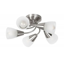 Connor,Ceiling lamp,5xE14 5X 40W