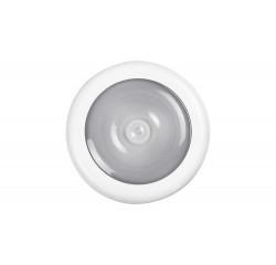 Milo, night light, white, built in LED 0,5W 4000K, with sensor