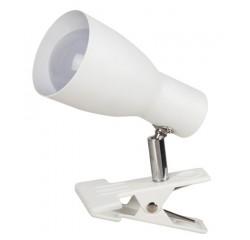 Ebony clip-on spot E27 max20W white