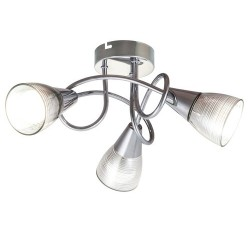 Theo spot lamp E14 3x max40W chrome