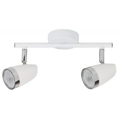 Karen spot LED 2x4W white/chrome
