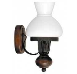Petronel wall lamp E27 60W matt black