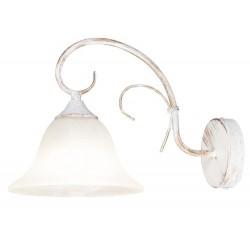 Katherine wall lamp E27 60W a.white