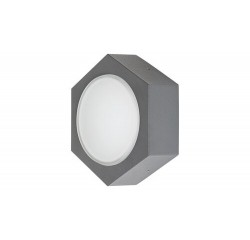 Avola,anthracite grey/ white,LED9W
