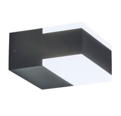 Bona wall lamp LED 2x4,5W IP54,antr.grey
