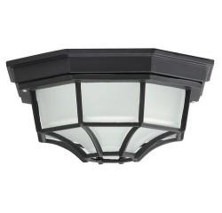Milano garden ceilingE27 100W black IP44