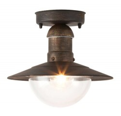 Oslo outdoor ceiling E27 60W a.gold IP44